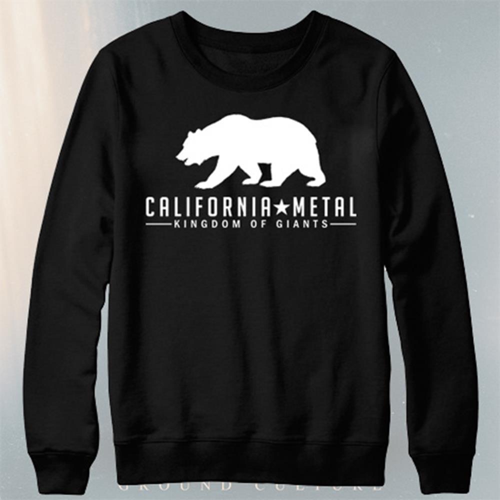 Kingdom of Giants - Metal Black Crewneck Sweatshirt