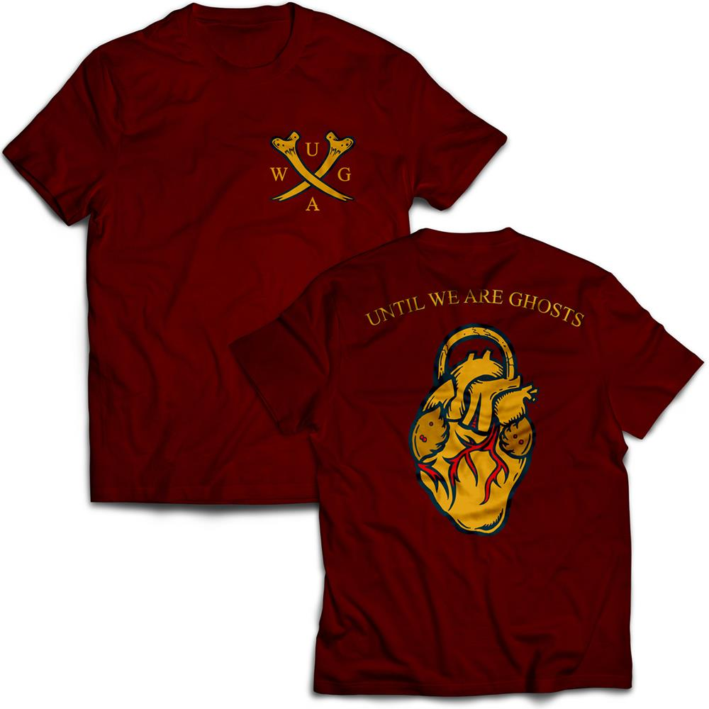 Cross Bones Maroon