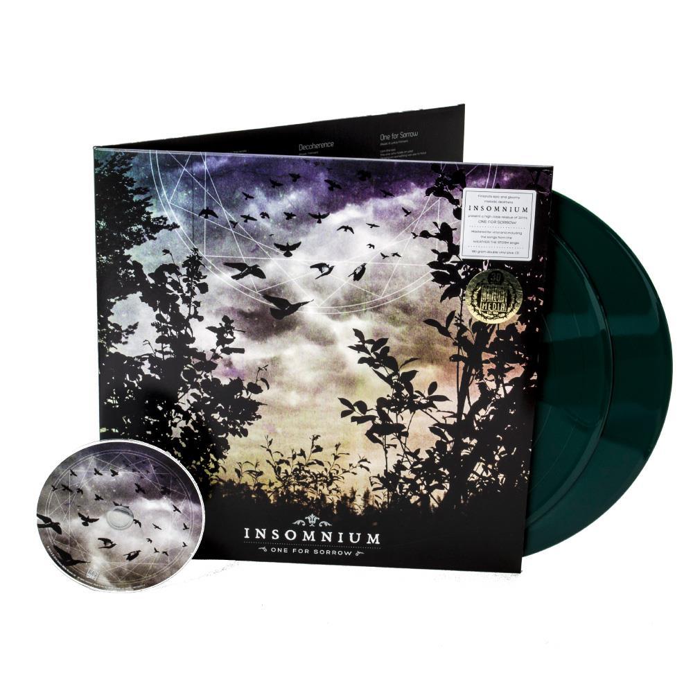 One For Sorrow Dark Green Vinyl 2Xlp