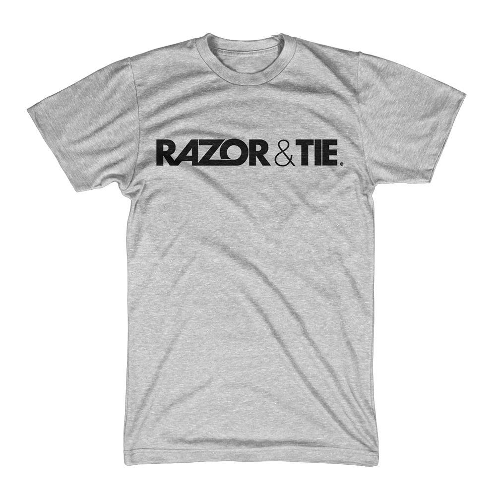 Razor And Tie - Logo Black On Gray