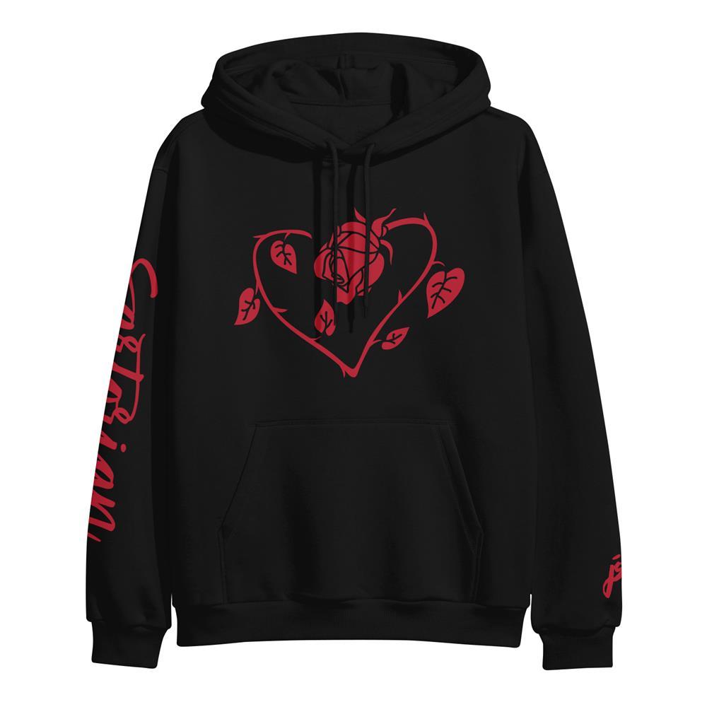 Rose Heart Black