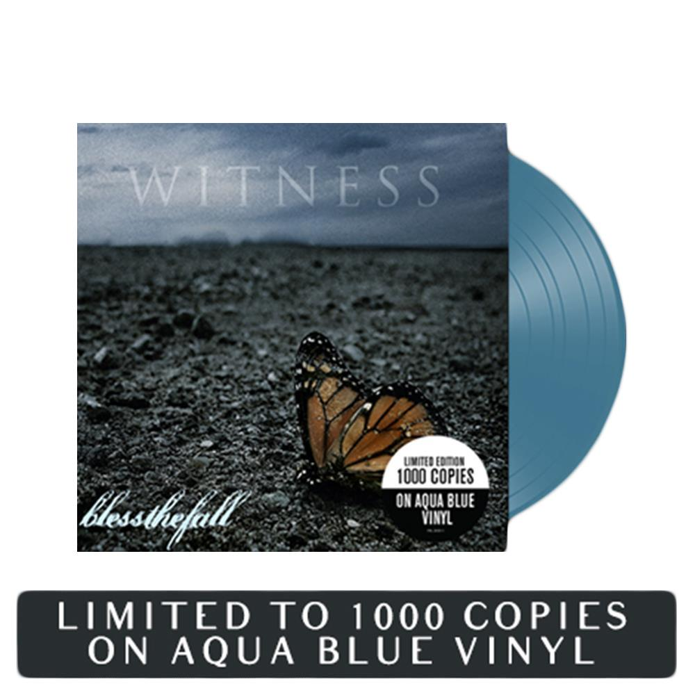 Witness Aqua Blue Vinyl LP