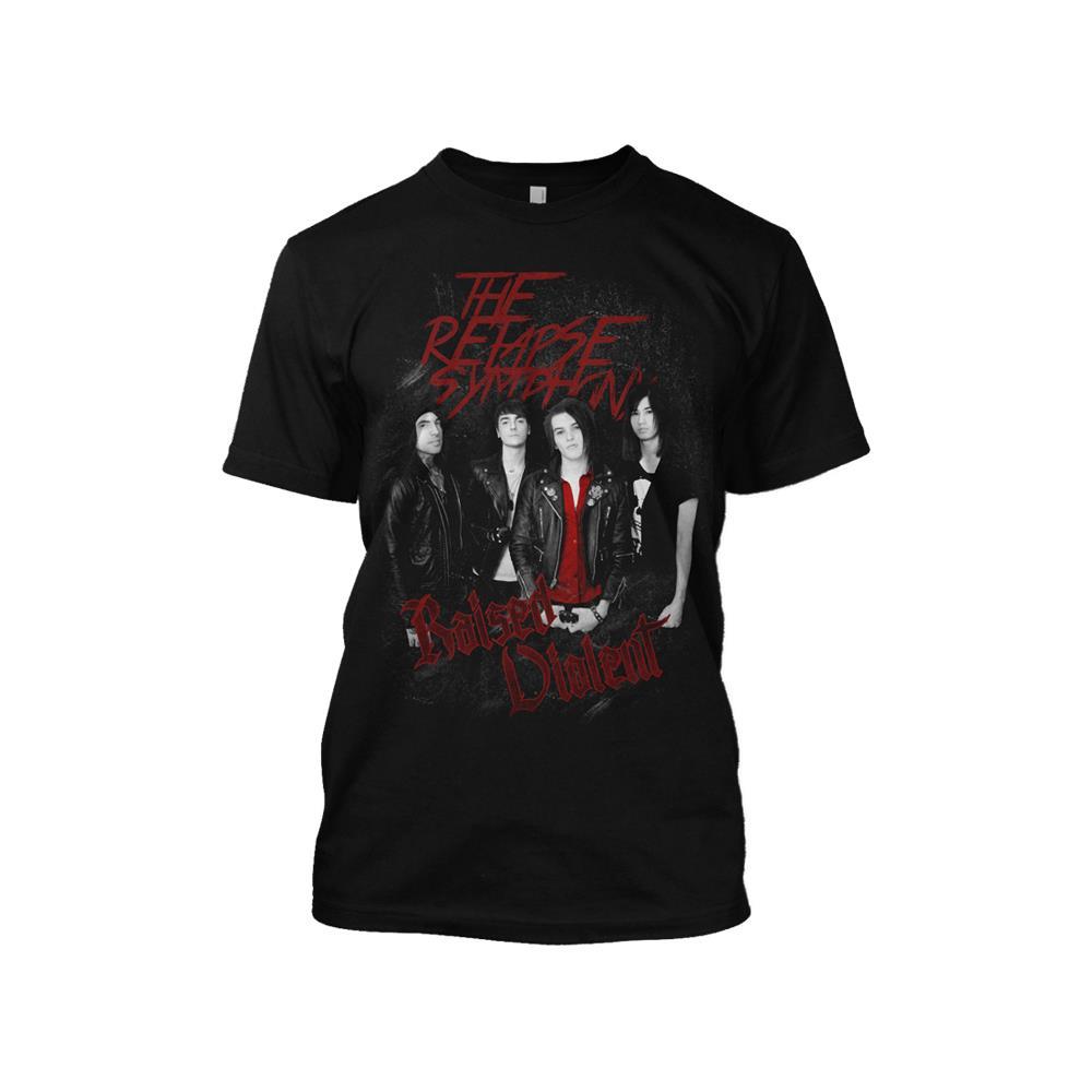 Raised Violent Black T-Shirt