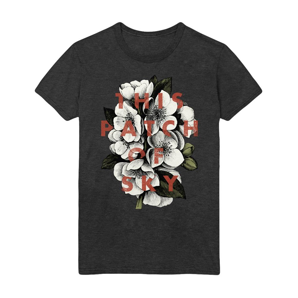 Flower Dark Grey Heather