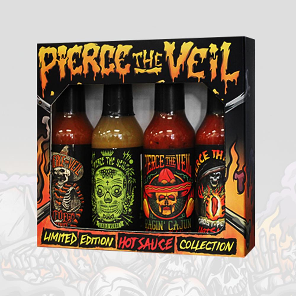 Image result for pierce the veil hot sauce