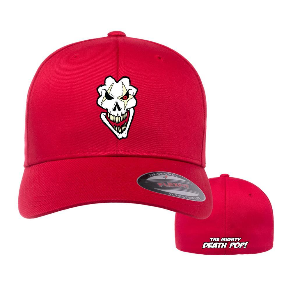 Death Pop Skull Red Flexfit