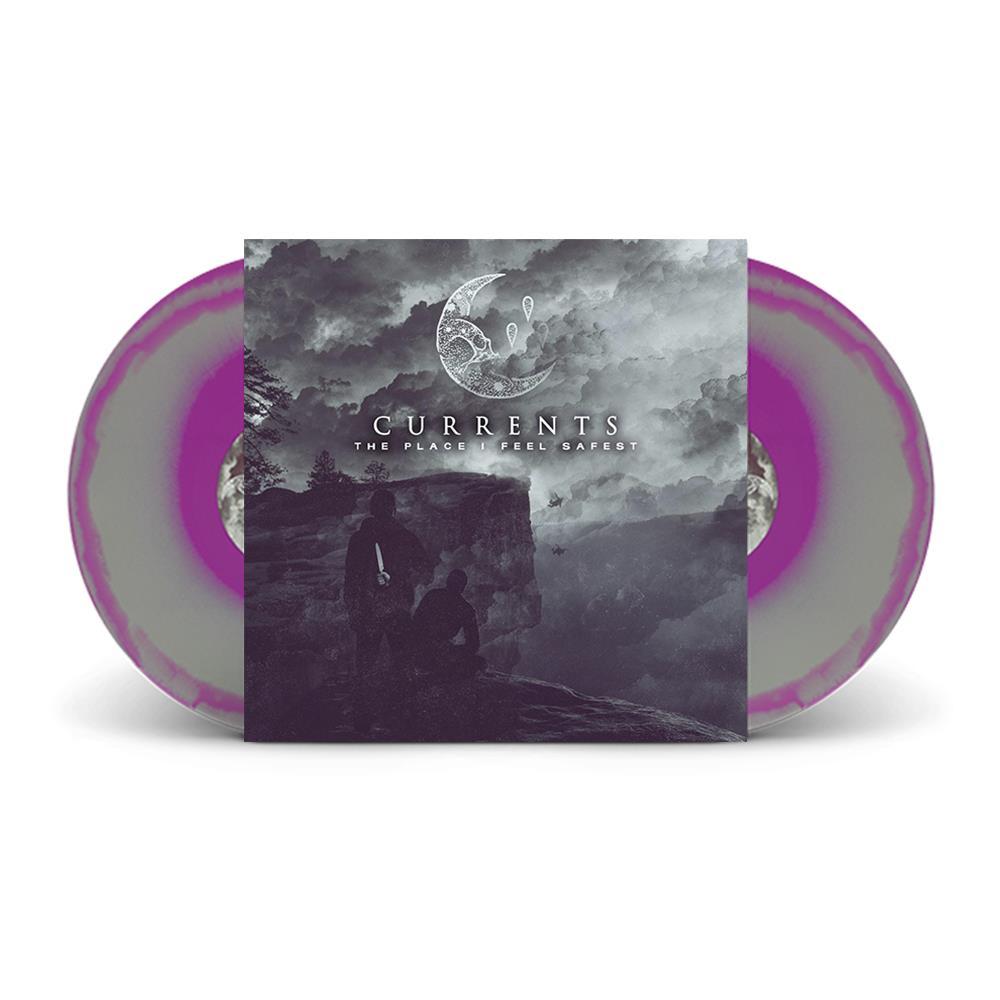 The Place I Feel Safest  Purple W/ Grey Swirl