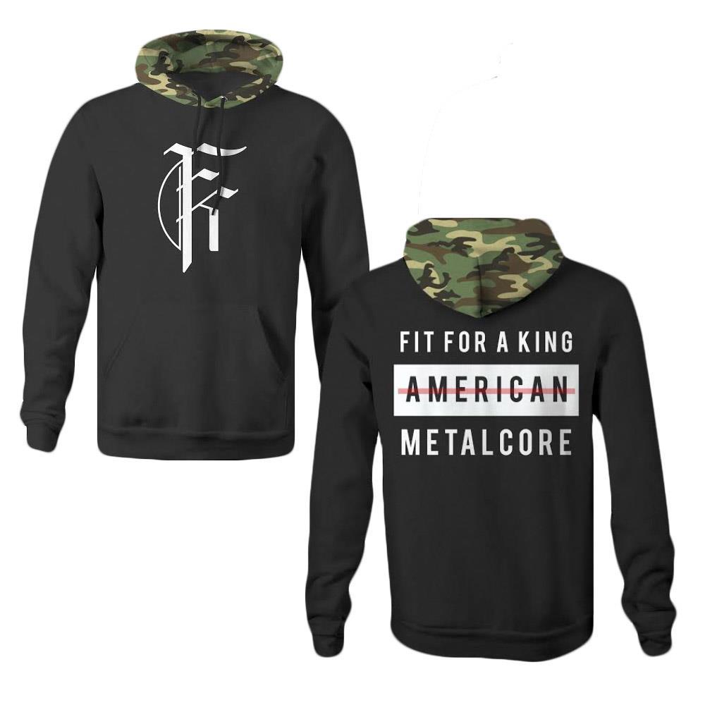 American Metalcore Black/Camo