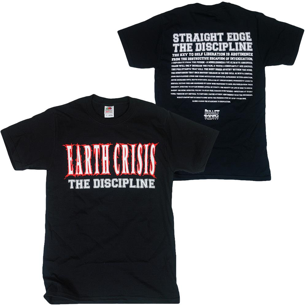 The Discipline Black T-Shirt