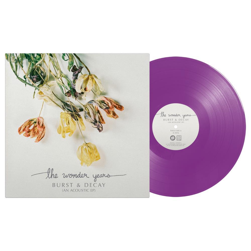Burst & Decay (An Acoustic EP) Opaque Purple