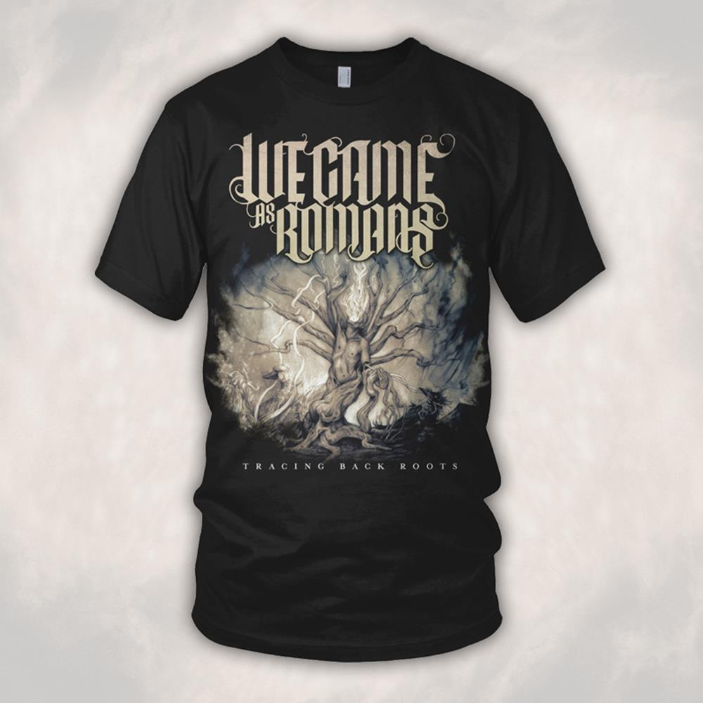 Tracing Back Roots Black T-Shirt