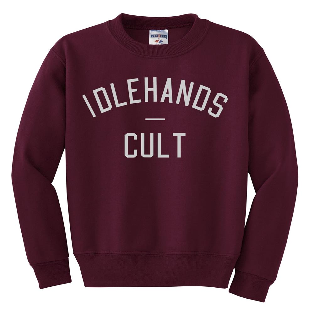 The Cult Maroon Crewneck