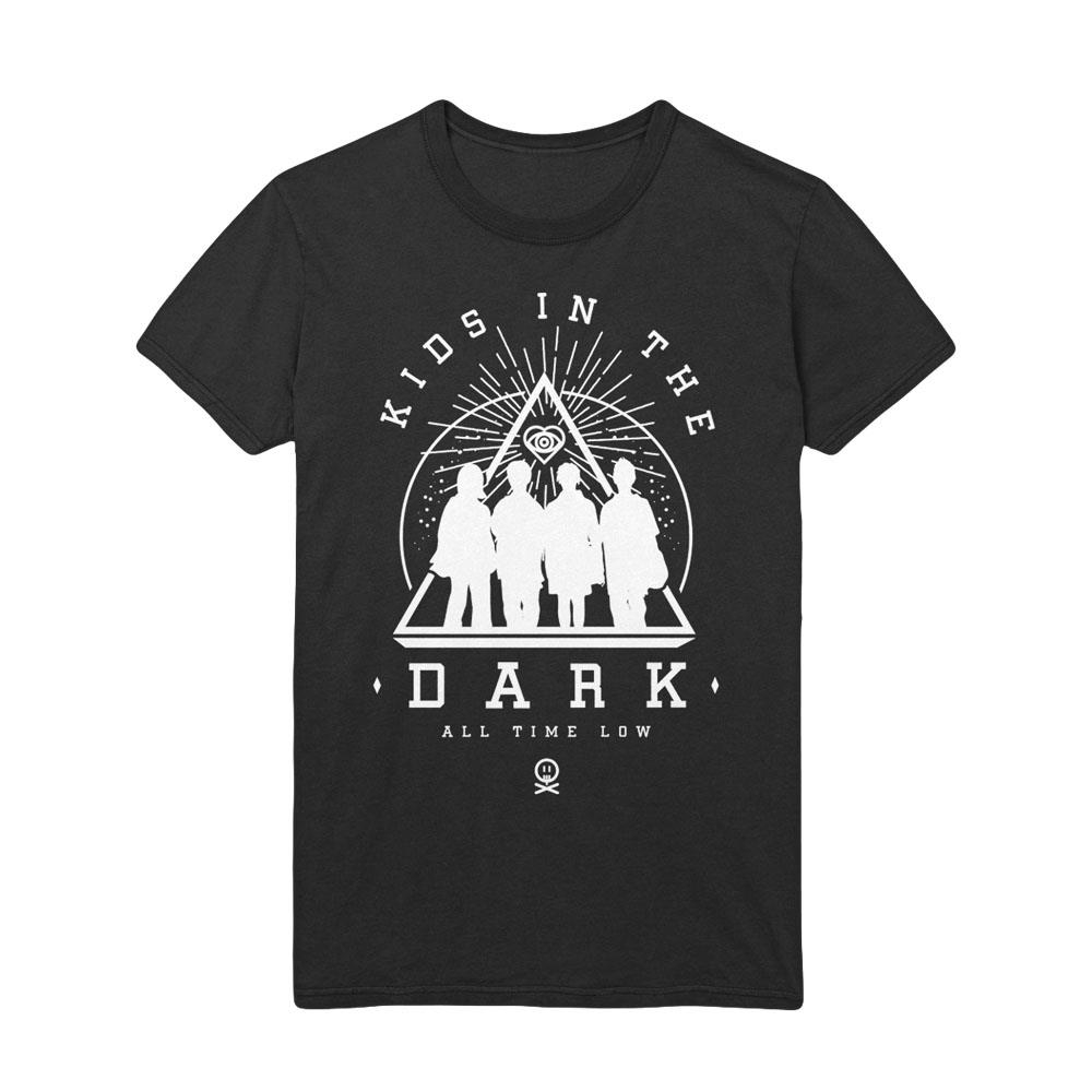 Kids In The Dark Black T-Shirt