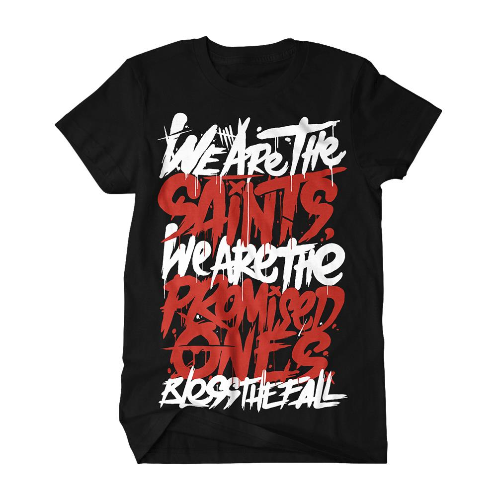 blessthefall - We Are The Saints Black *Final Print!*