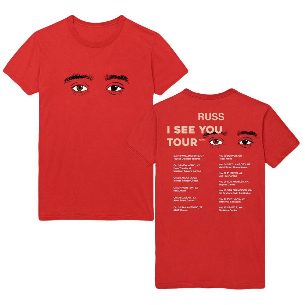Eyes (I See You Tour Pt. 2) Red