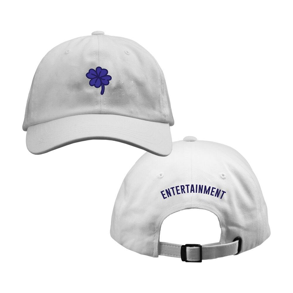 Clover White Dad Hat