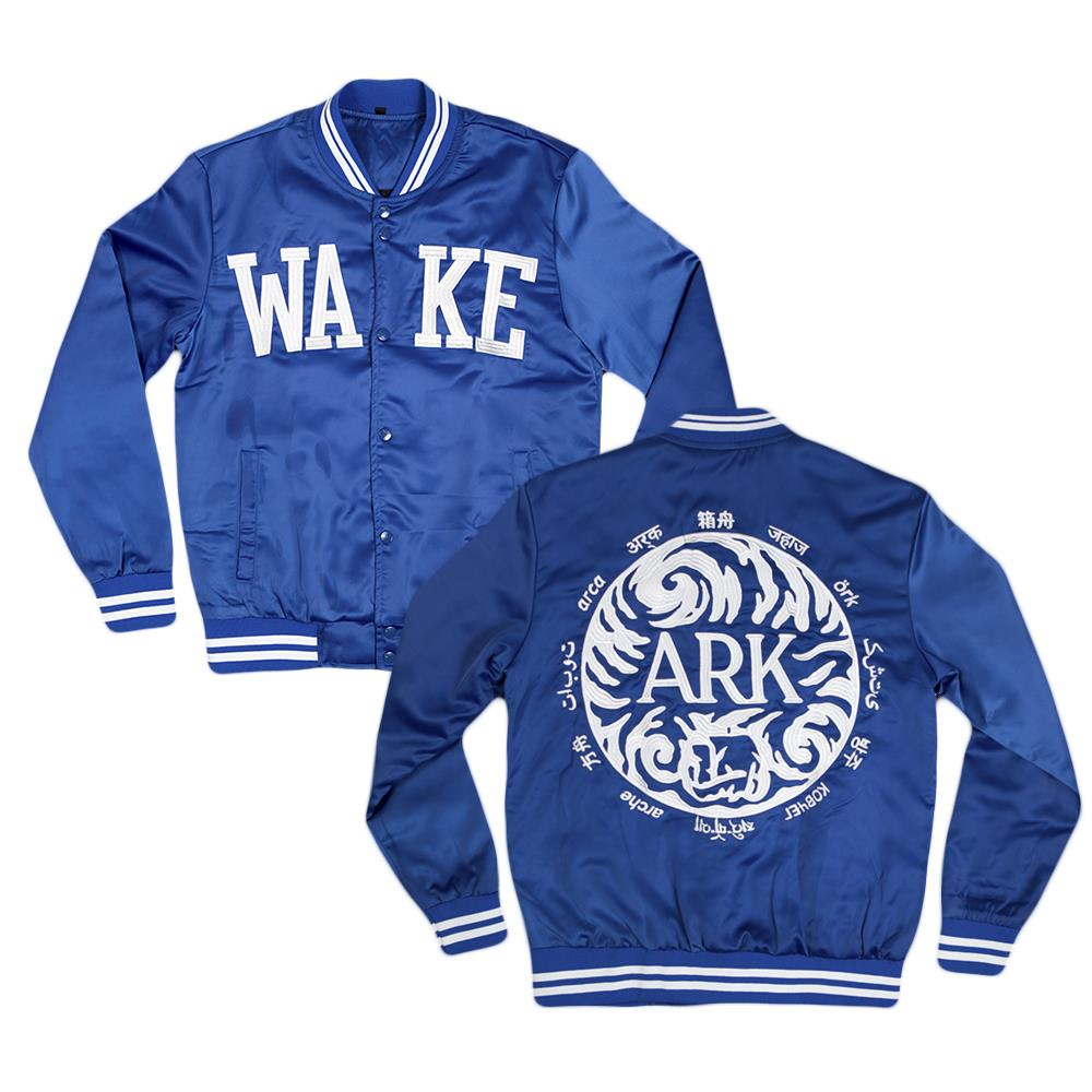 Wake Blue Custom Varsity