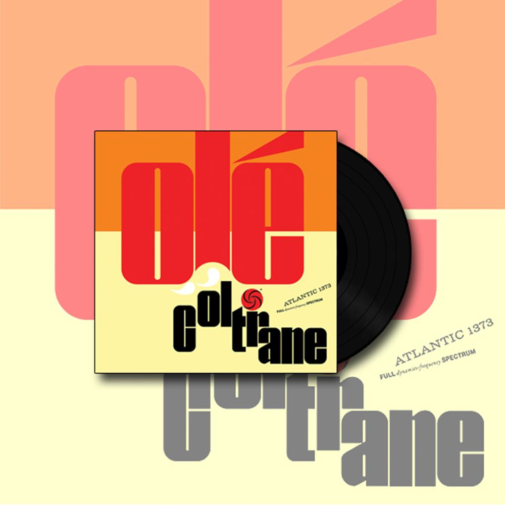 Ole Coltrane 180 gram 45rpm Double Gatefold LP