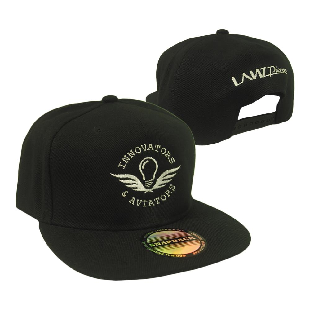 Innovators & Aviators Black Snapback