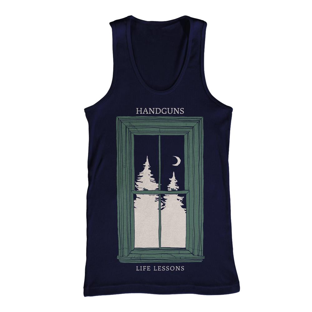 Window Navy Blue Tank Top