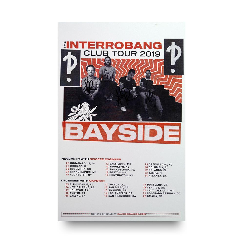 *Signed* Interrobang Club Tour