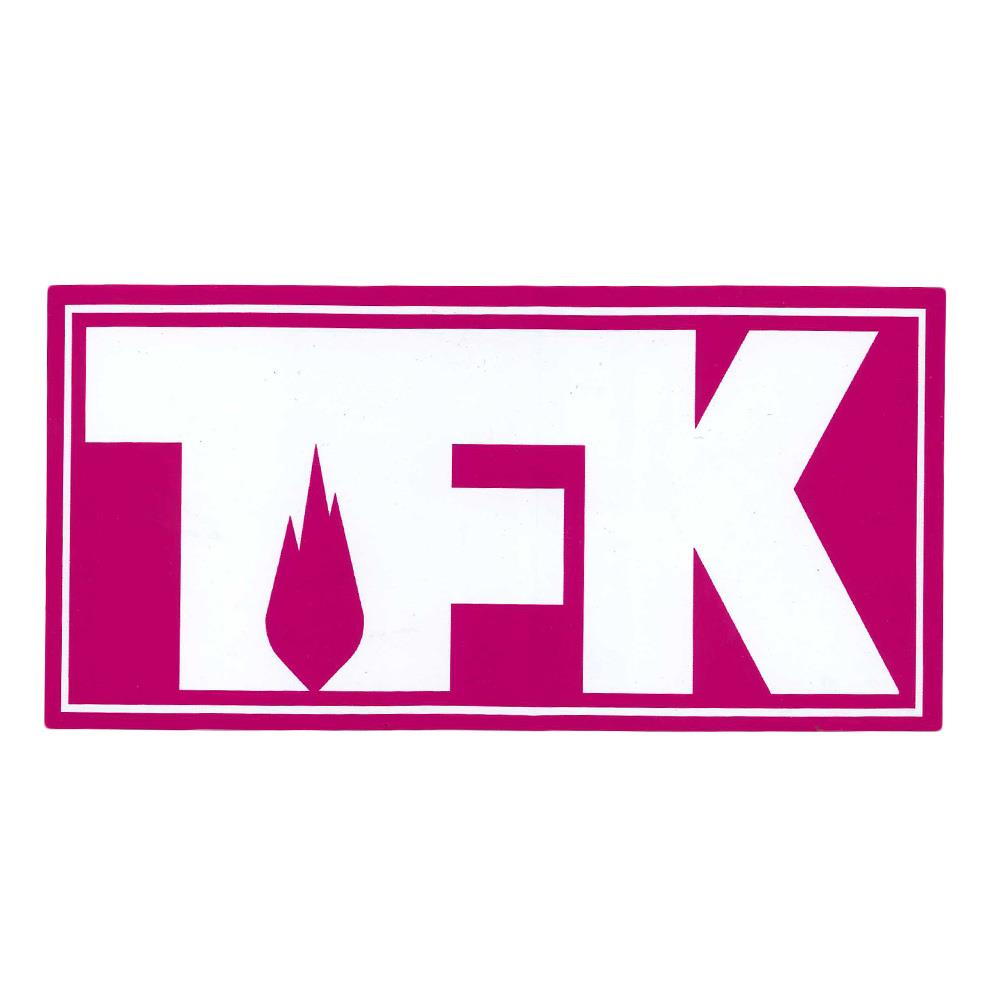 TFK Outline Logo Pink