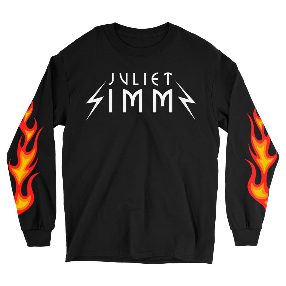 Flames Black