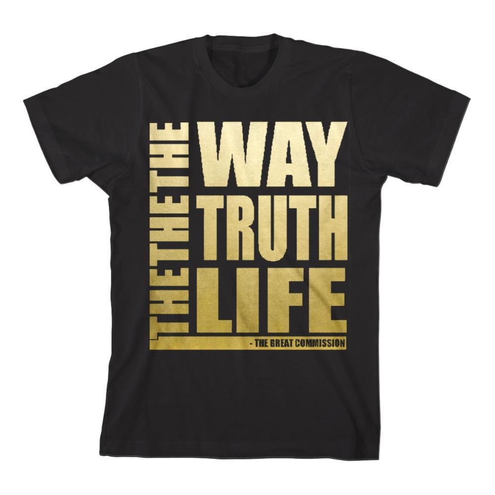 The Way The Truth The Life Foil Black *Sale! Final Print* $6 sale Final Print! $6 Sale