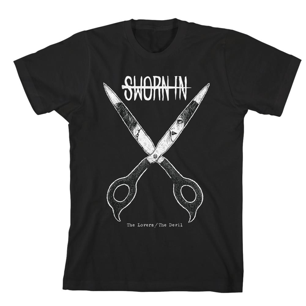 Scissor Black T-Shirt