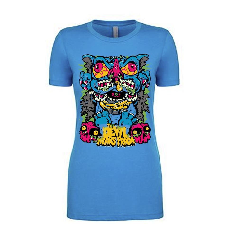 Wingnut Turquoise JRS/Girls Tee