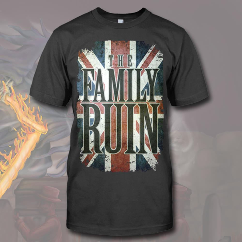 Union Jack Coal Grey T-Shirt