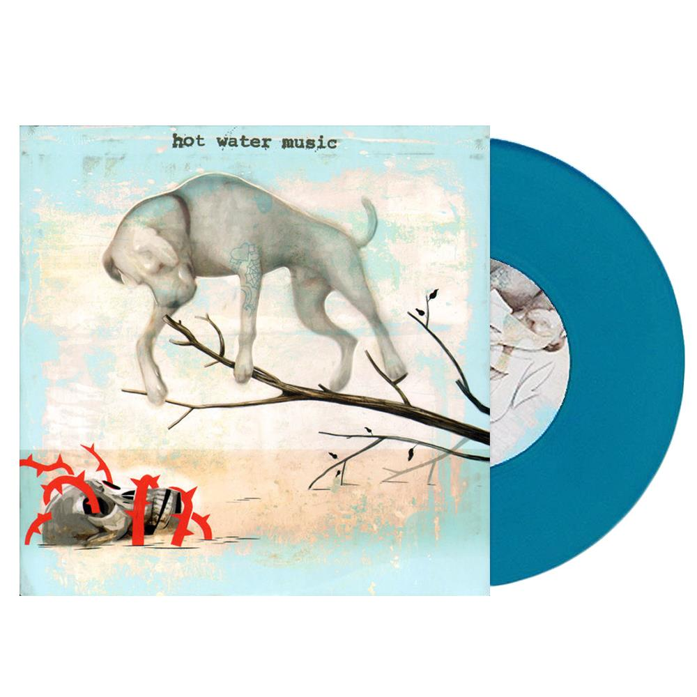 The Fire The Steel The Tread Transparent Teal 7Inch Vinyl