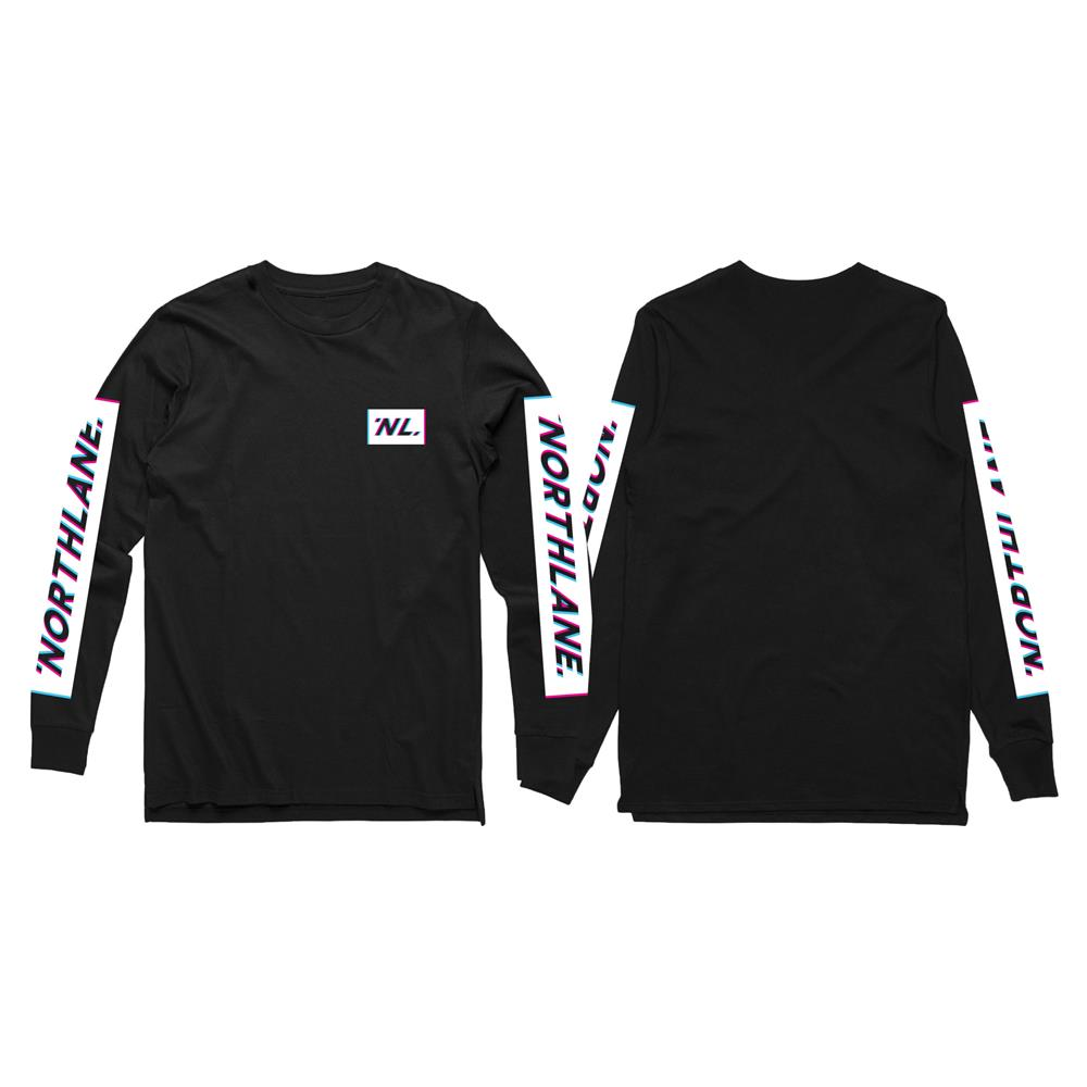 3D Box Logo Black
