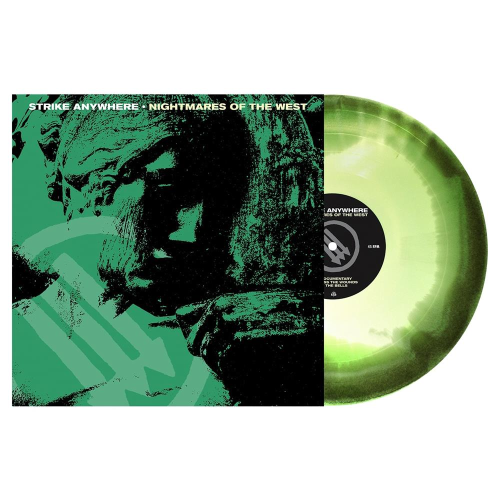 Nightmares Of The West  Doublemint, Swamp Green, White Aside/Bside