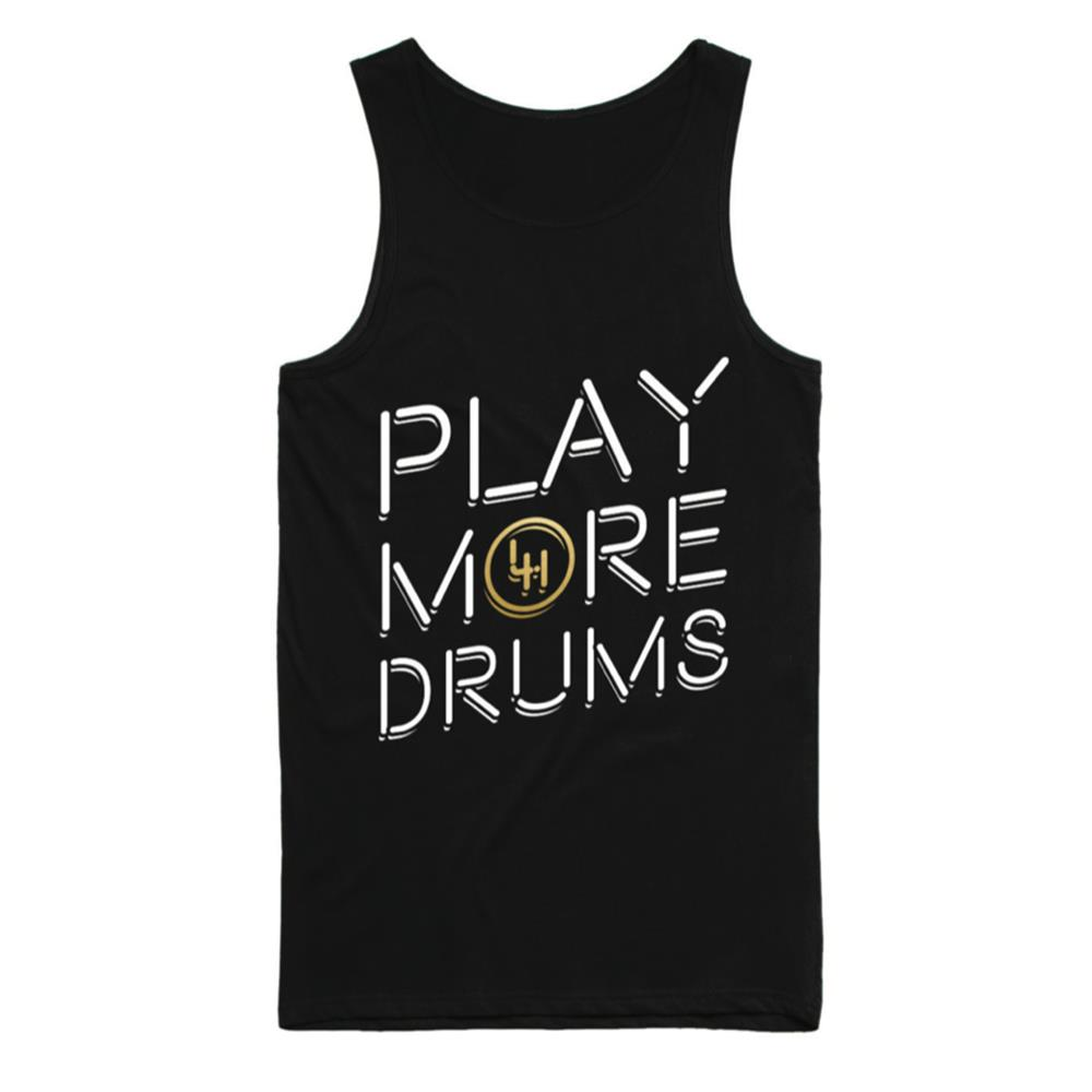 Play More Drums Black