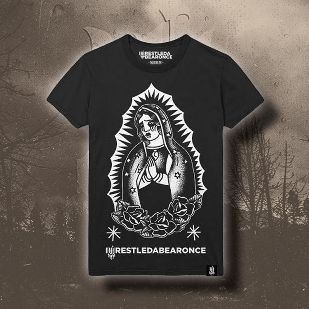 Hail Mary Candle Black T-Shirt