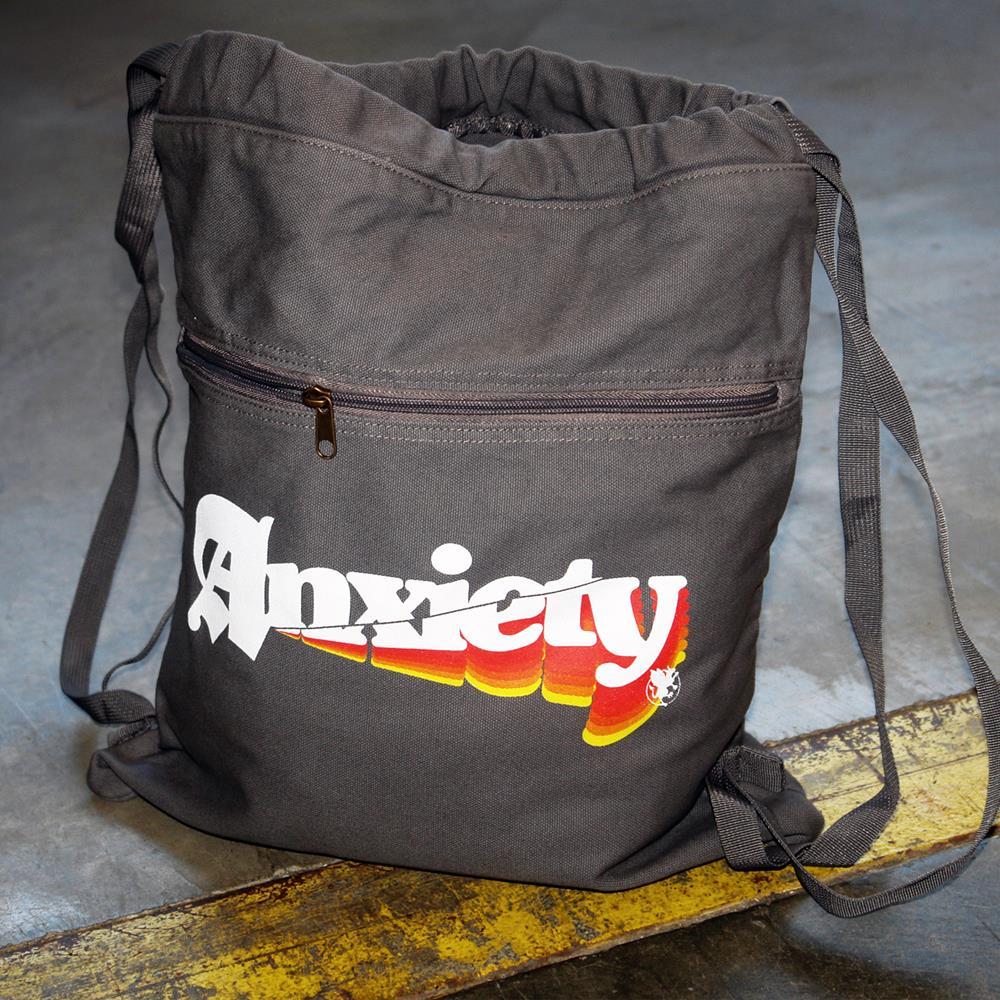 Anxiety Smoke Cinch Bag