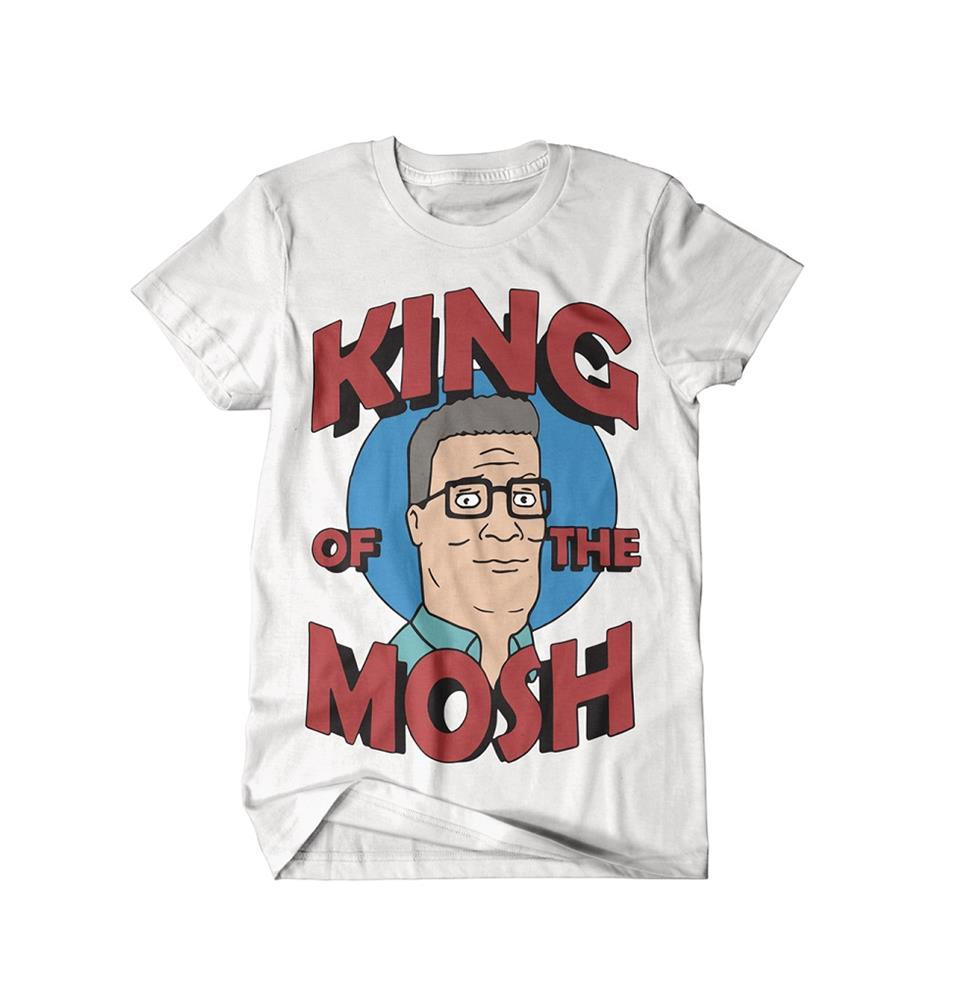 King Of The Mosh White