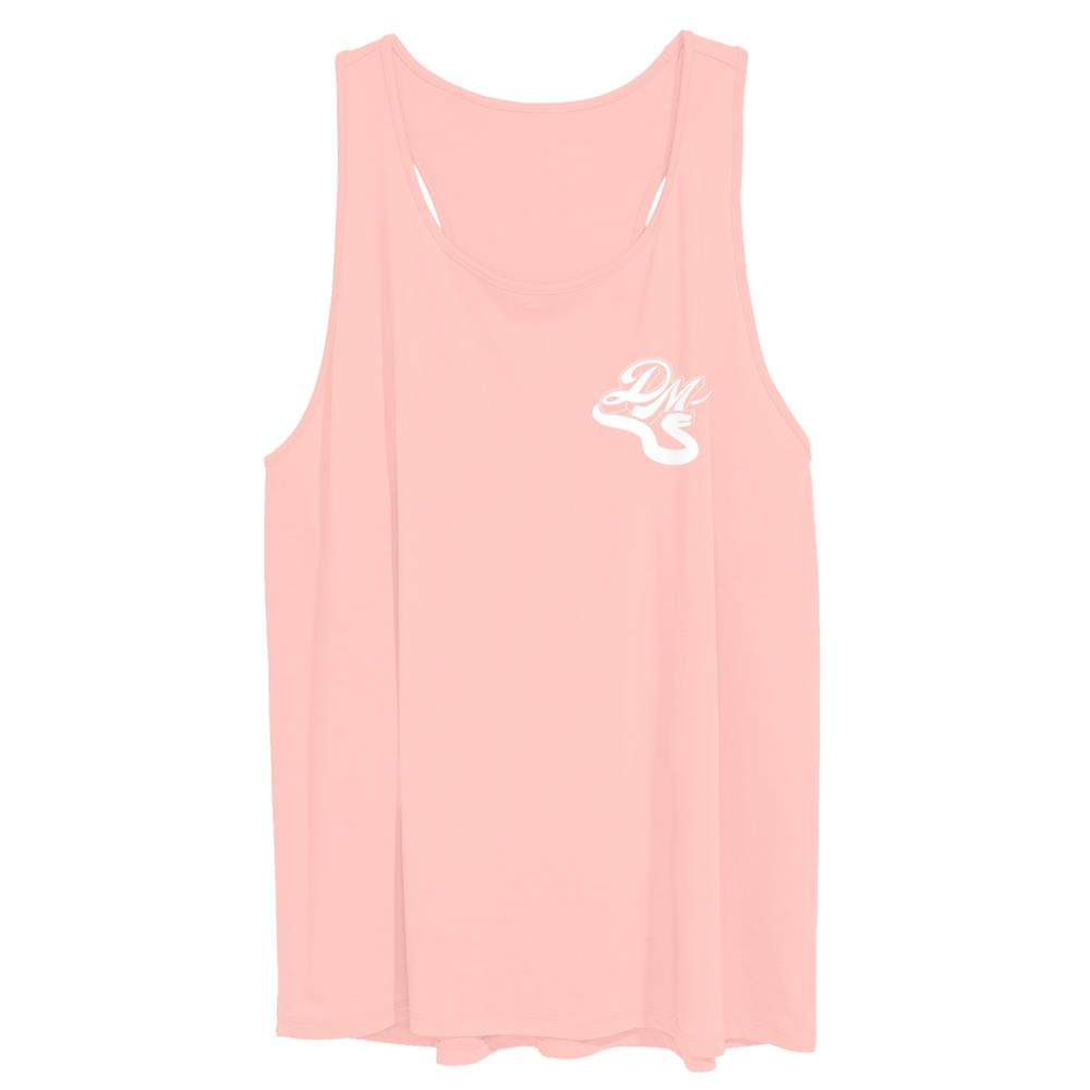 Snake Logo Light Orange Racerback Tank