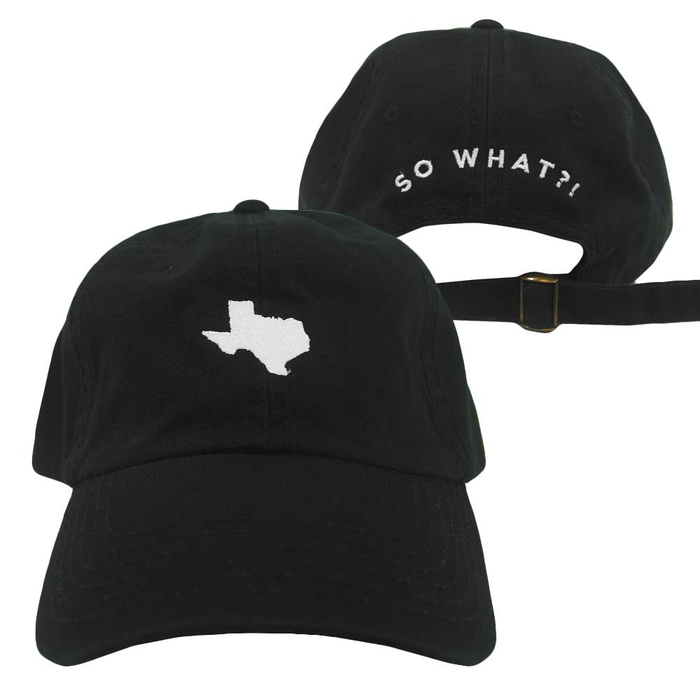 So What Music Festival Logo Black Dad Hat