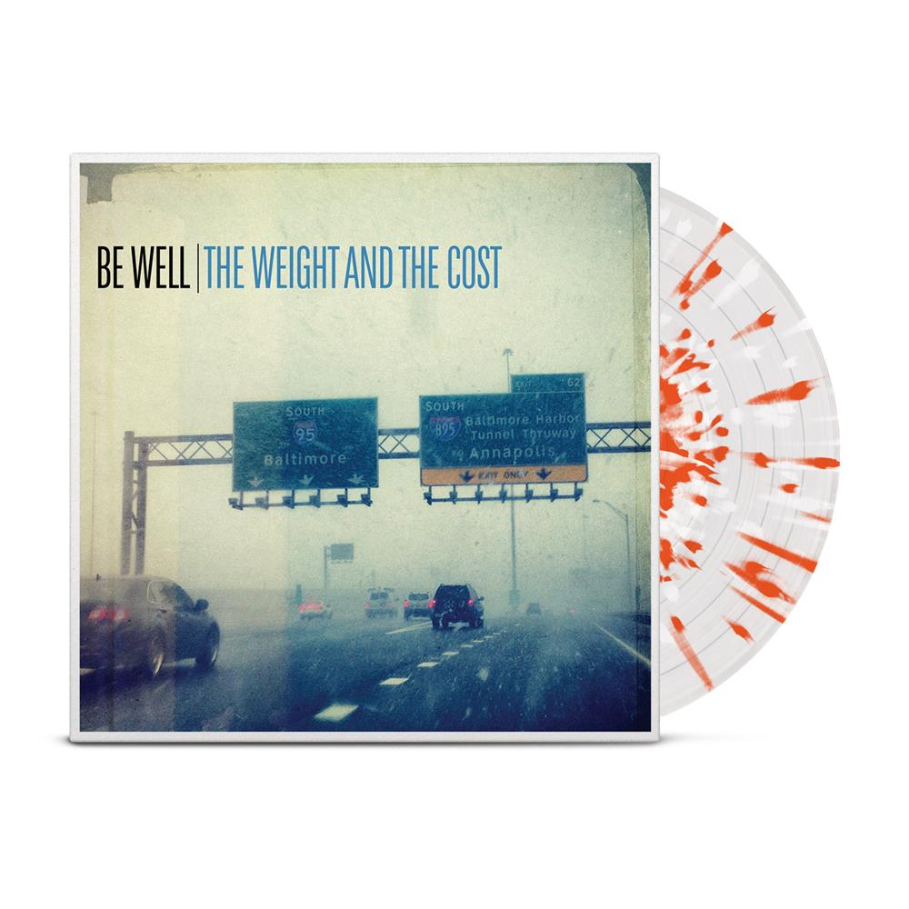 The Weight And The Cost Clear w/ Orange/White Splatter