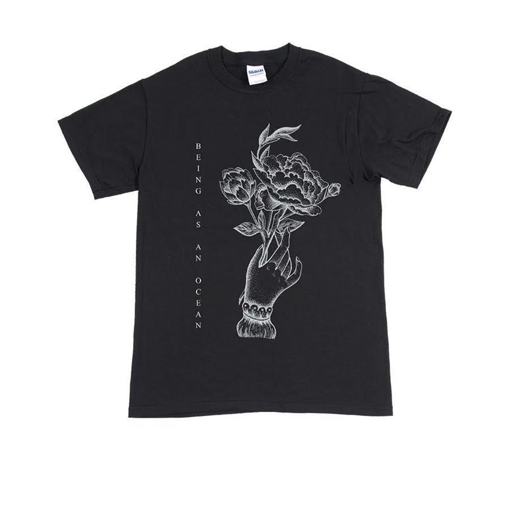 Flower/Hand Black