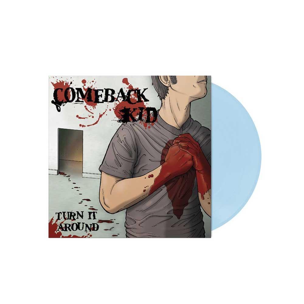 Turn It Around Baby Blue LTD Vinyl