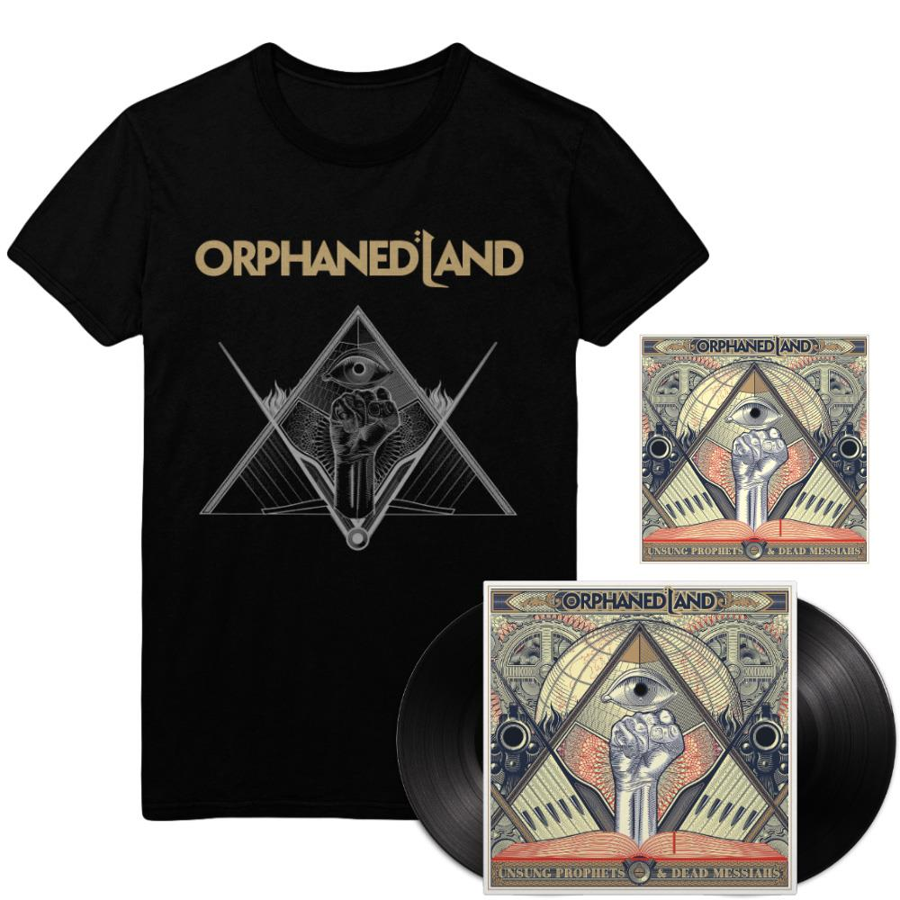 Black Vinyl 2x LP + CD + Pyramid T-Shirt Exclusive