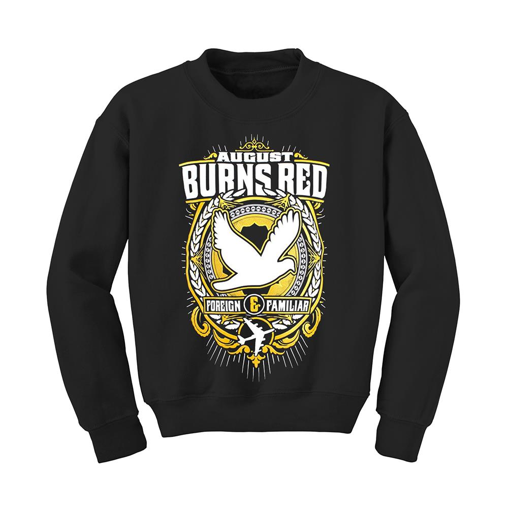 Rescue & Restore Black Crewneck X-Large