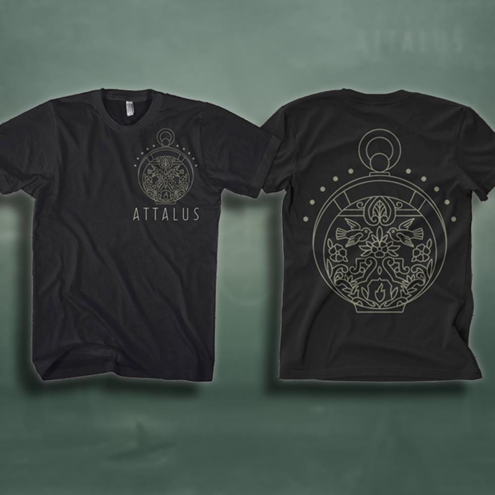 Pocketwatch Black T-Shirt