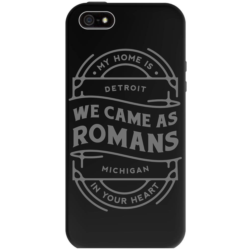 Detroit Iphone 5 Black Phone Case