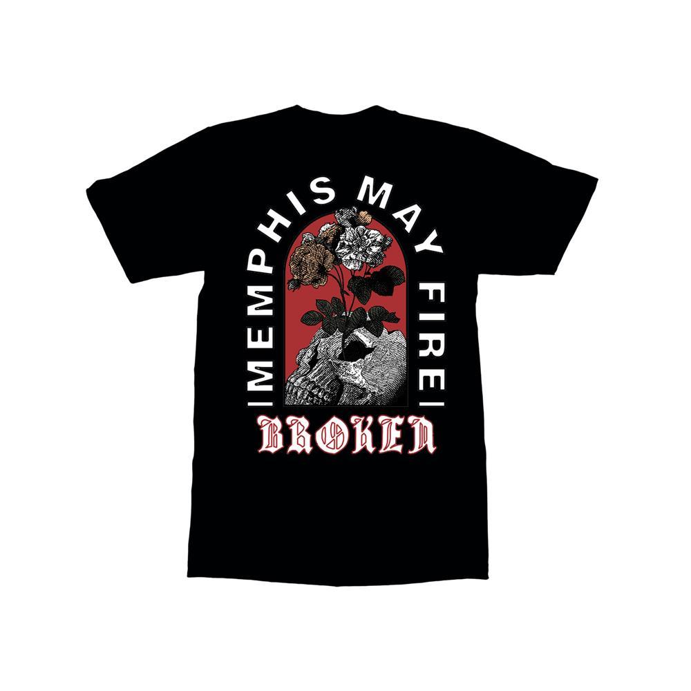 Broken Skull Black