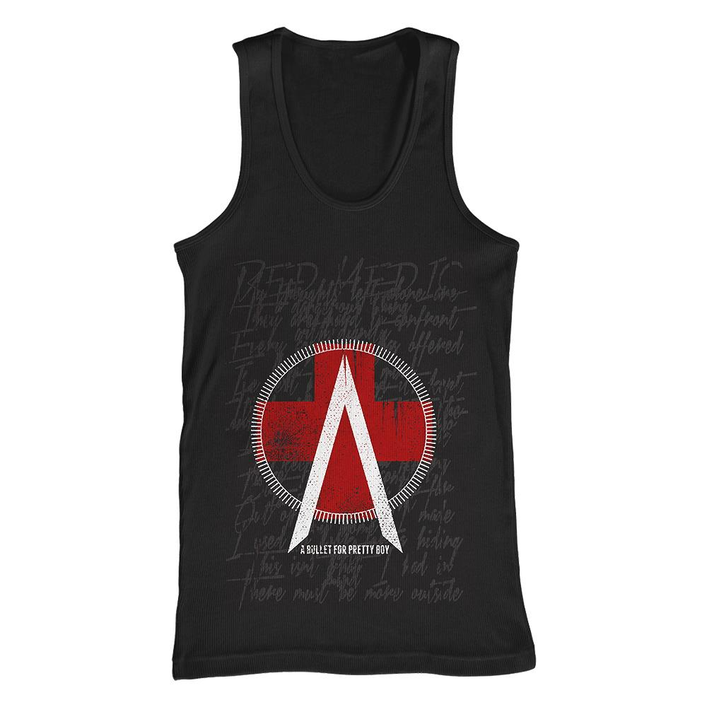Red Medic Black Tank Top