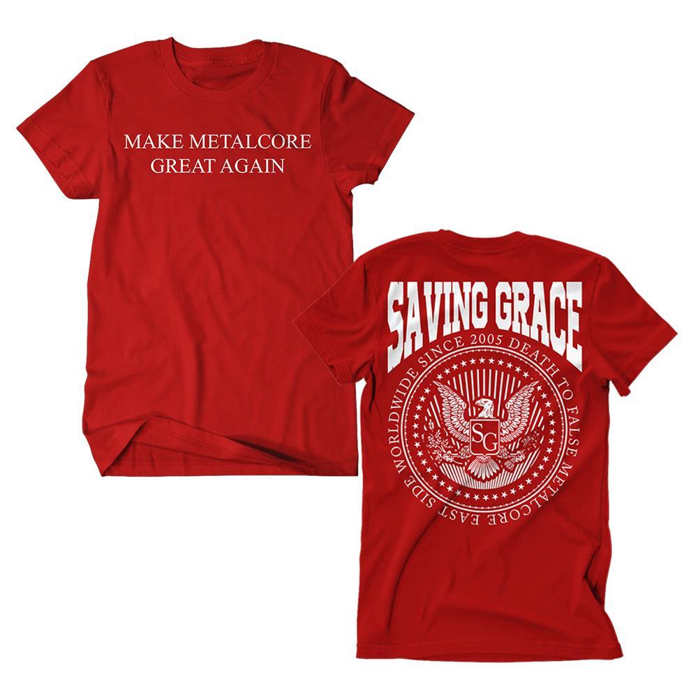 Make Metalcore Great Again Red